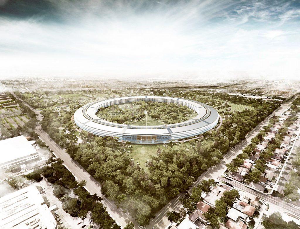 Apple Cupertino новый офис