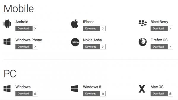 Все версии Line - iPhone iPad Android