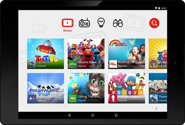 YouTube запускает видео-приложение для детей