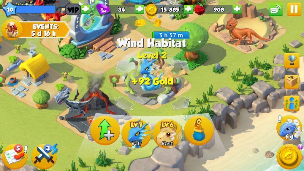 Dragon Mania Legends как играть подсказки и стратегии