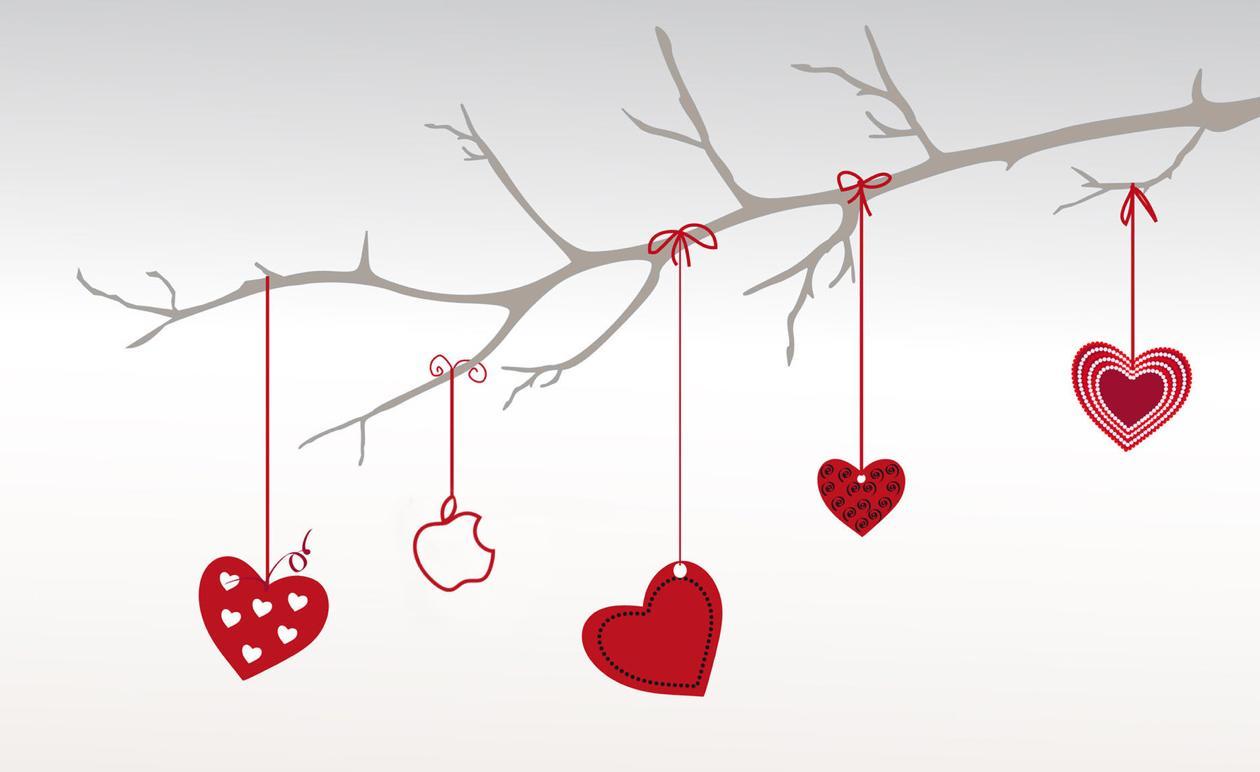 Валентинка по электронной почте или приложению