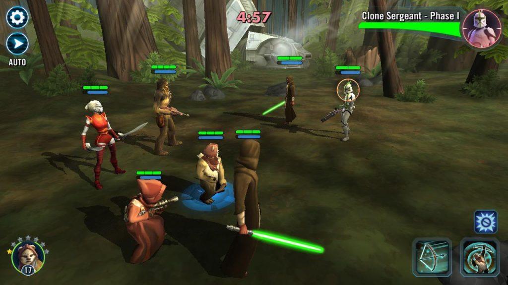 Арена - Star Wars: Galaxy of Heroes