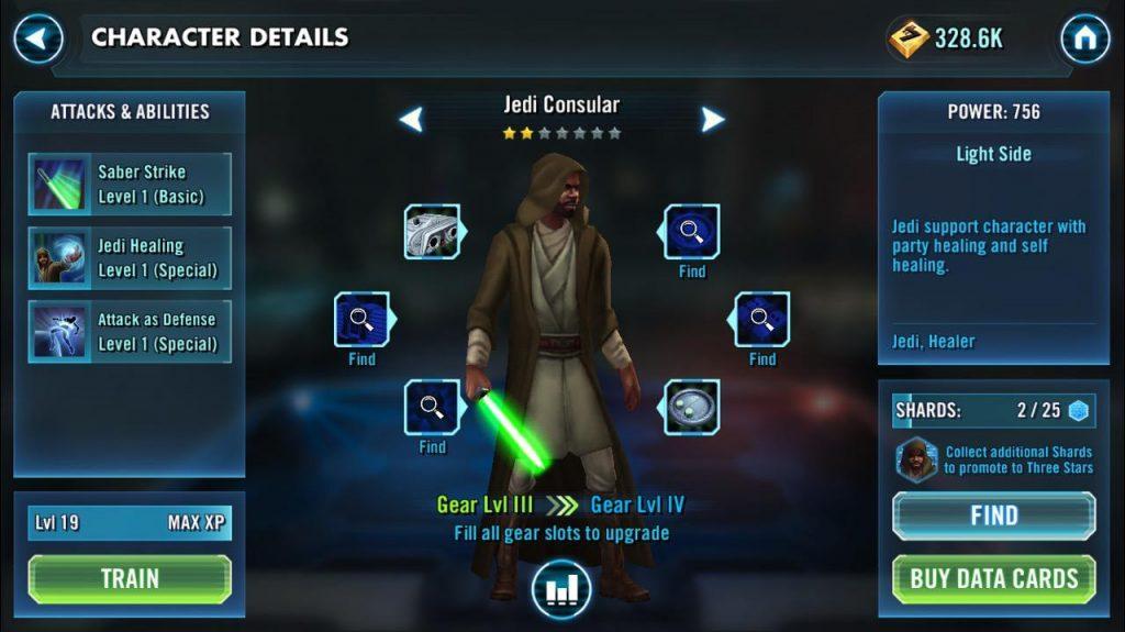 Jedi Consular (Джеди Консул) - Star Wars: Galaxy of Heroes