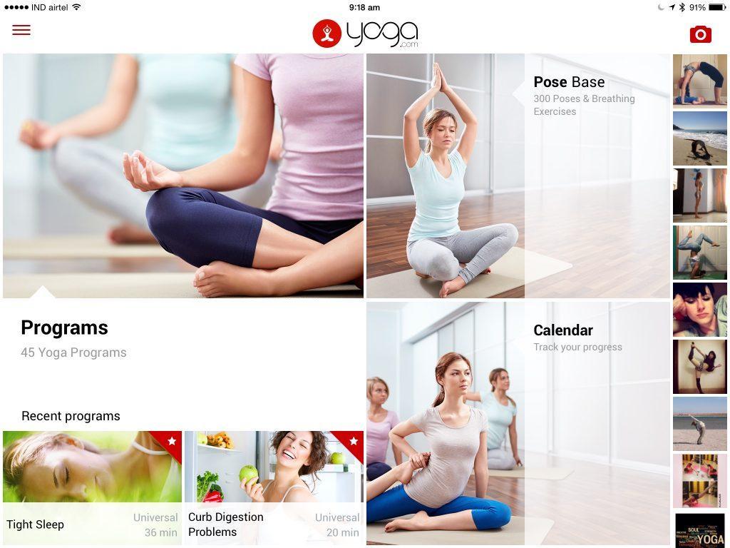 yoga.com studio - приложения для йоги