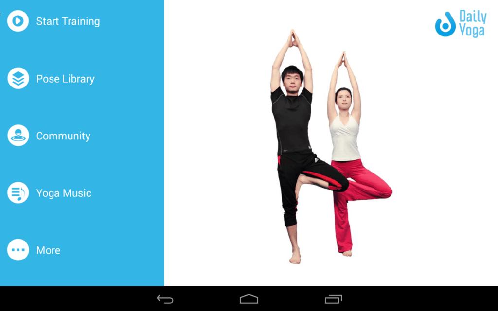 Daily Yoga приложения для йоги
