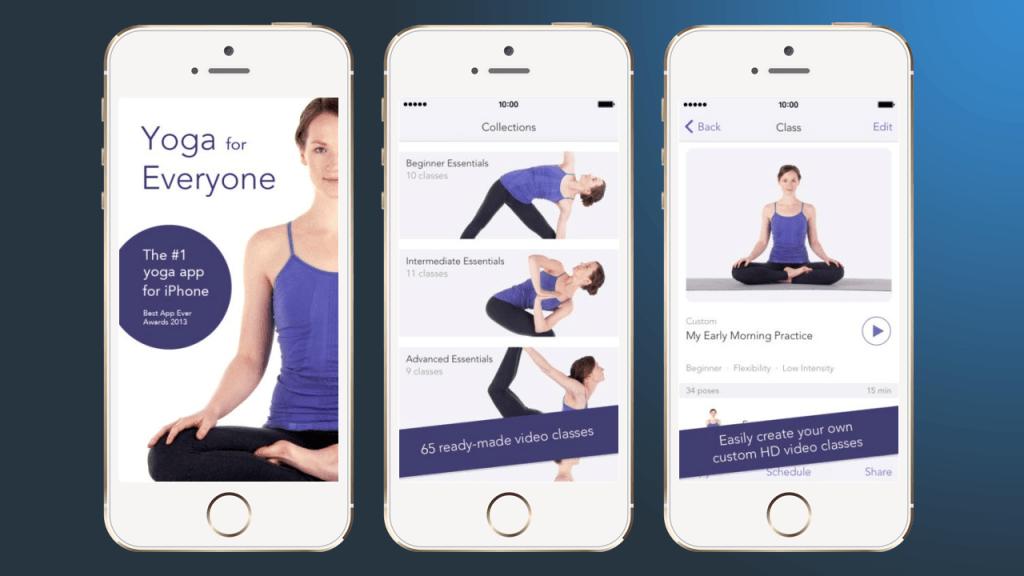 yoga studio - приложения для йоги