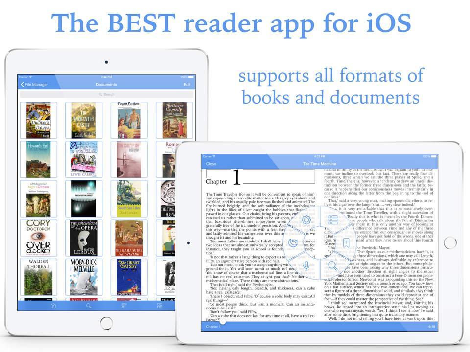 Total Reader Pro хорошая для Android