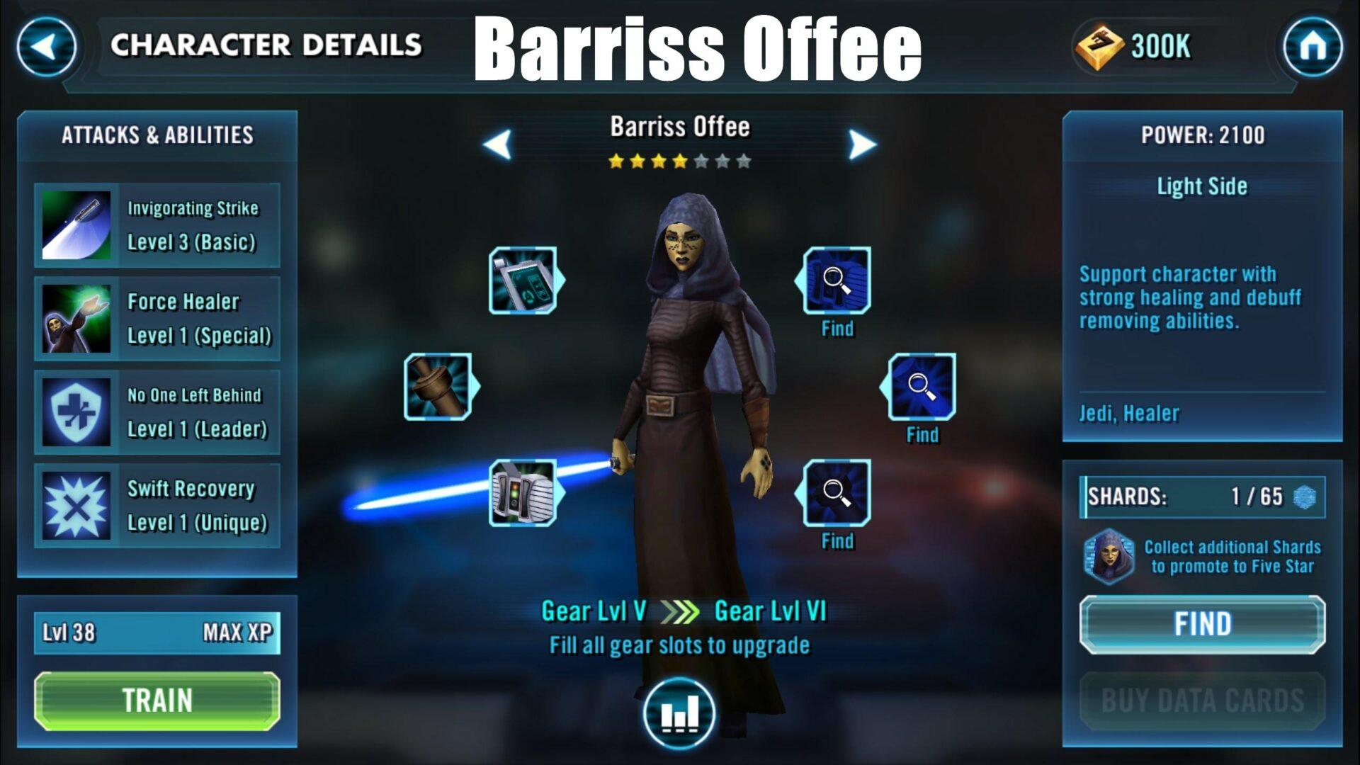 barriss offee - Прохождение Галактической войны в Star Wars
