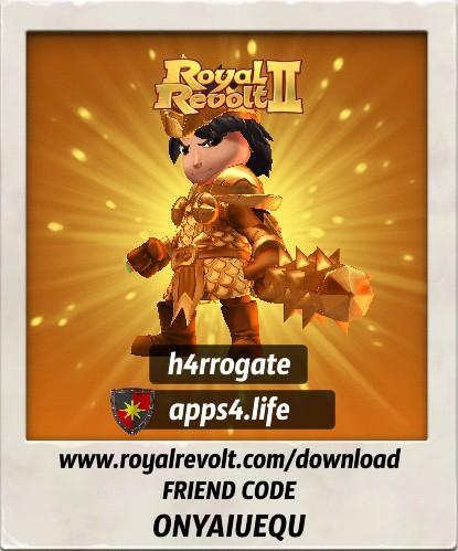Присоединяйтесь к нашему альянсу в Royal Revolt 2 - apps4.life