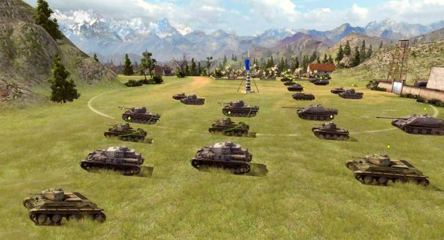 world of tanks тактика советы командный бой