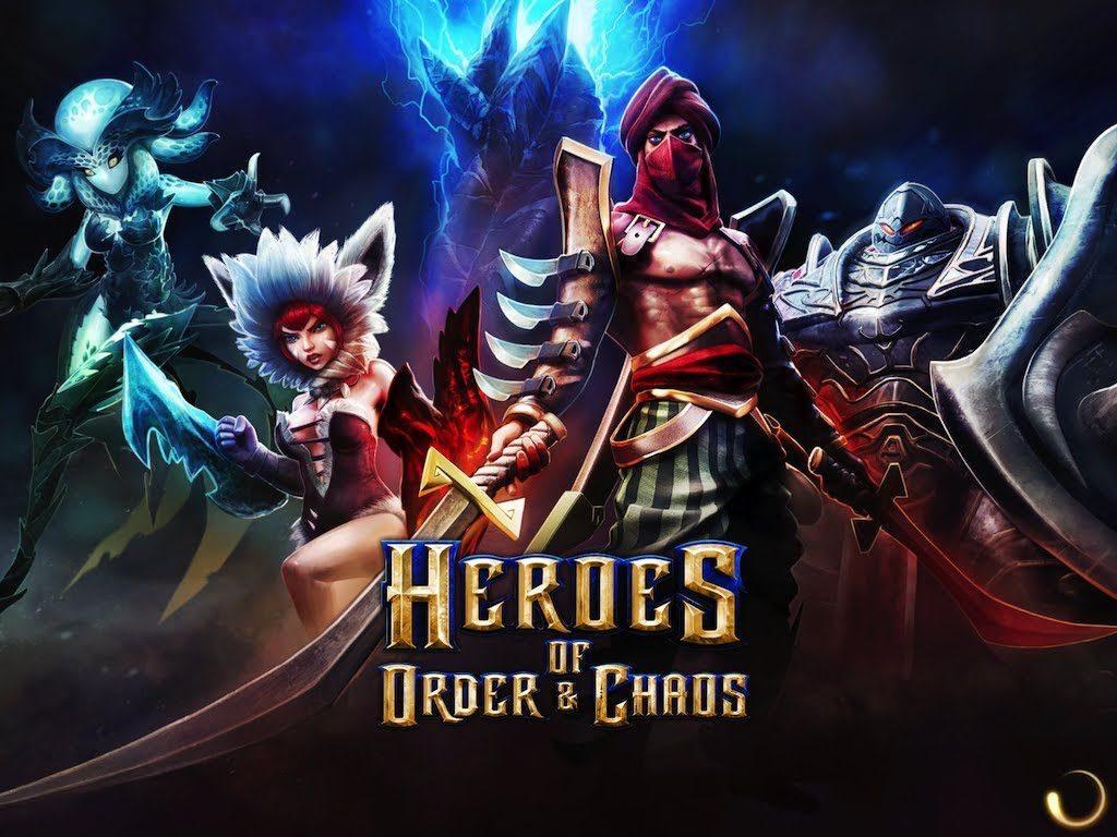 гайд Heroes of Order & Chaos