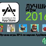 Лучшие игры 2016 года по версии App Store