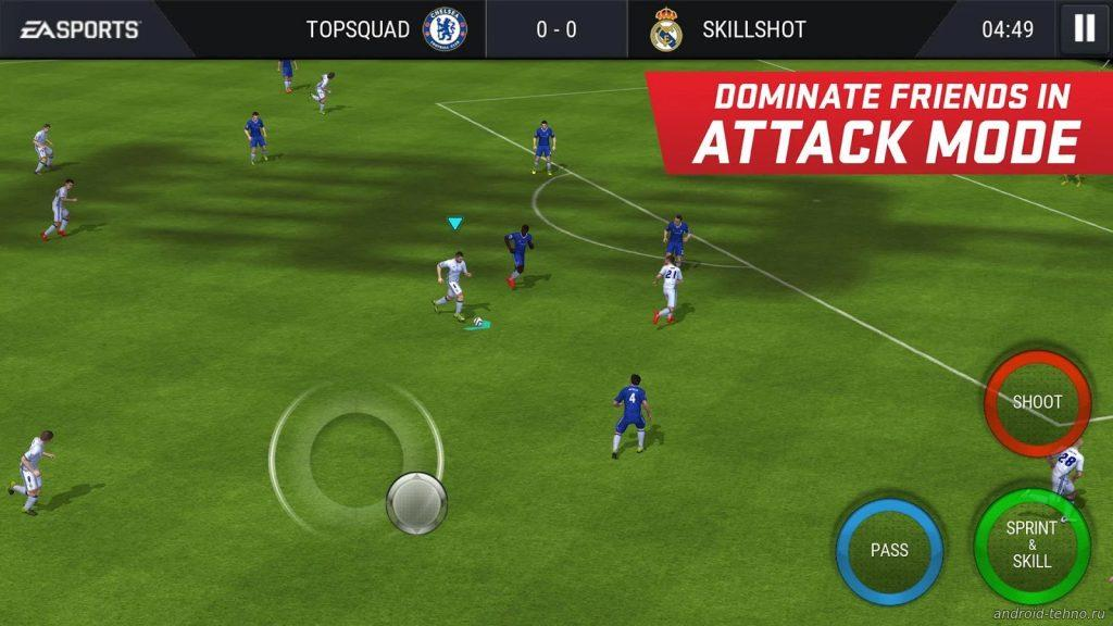 FIFA Mobile Football - топ игра на iOS 2016 года по версии AppStore