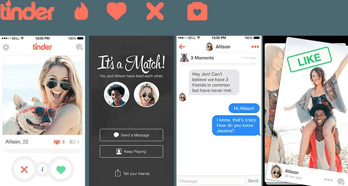 Tinder приложение для знакомства