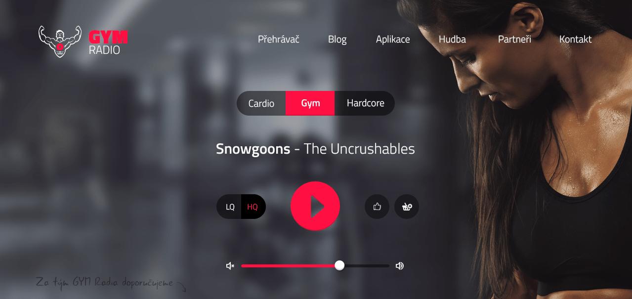Супер приложение GYM Radio - музыка для спорта - Apps4Life