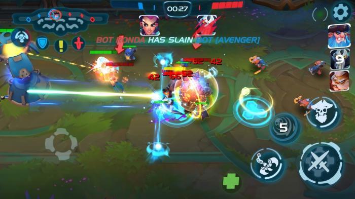 Planet of Heroes — MOBA для мобильных устройств