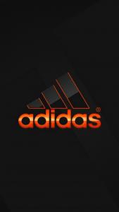 Обои на телефон с логотипом Adidas высокого качества для iPhone