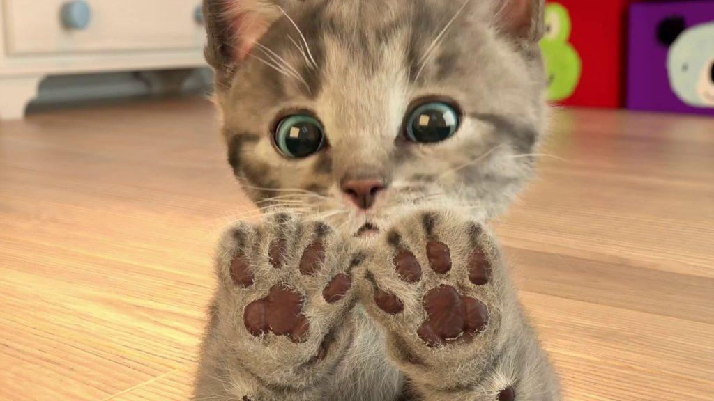 Little Kitten - My Favorite Cat: когда живой котенок не нужен