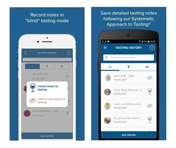 WSET Tasting Notes - Wine - бесплатное приложение для дегустационных заметок