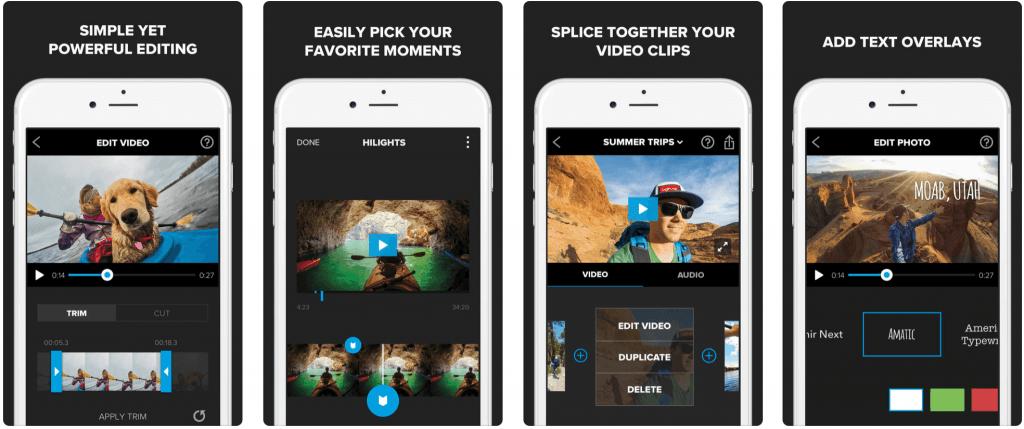 Splice - видеомонтаж программы для айфона