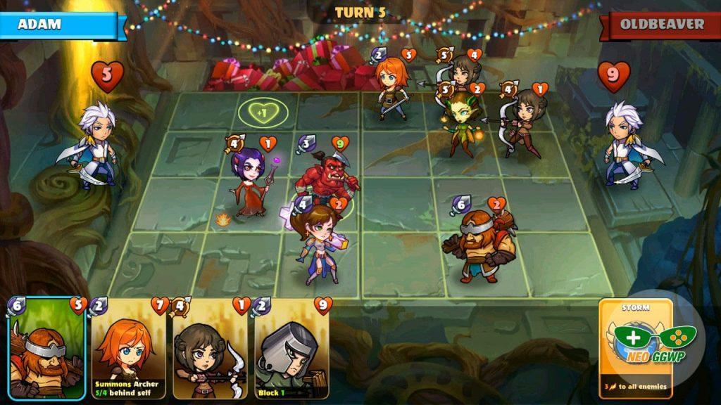 Mighty Party: Heroes Clash —игровая механика и игровая доска
