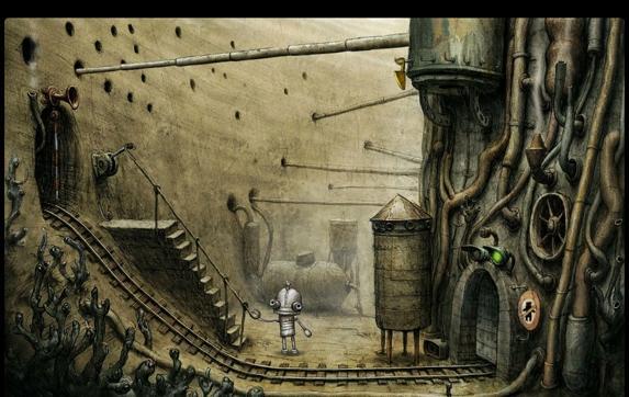 прохождение Machinarium