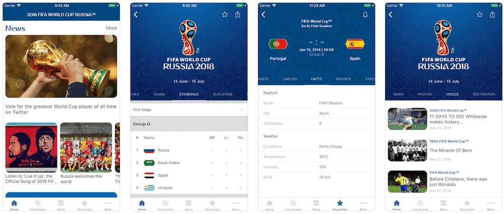 Скачати безкоштовно:Офіційний додаток від FIFA