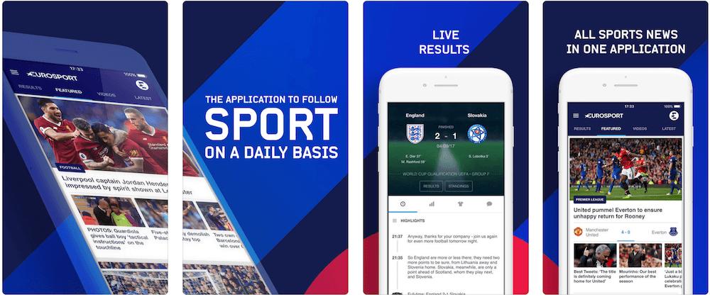 Скачати Eurosport безкоштовно