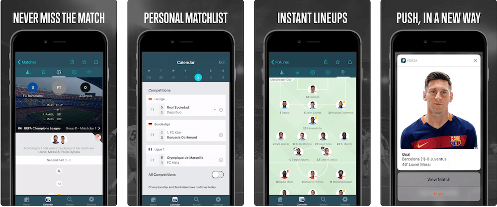 СкачатиForza Football безкоштовно з AppStore