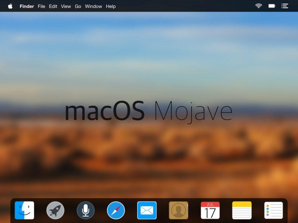 31 нововведение macOS Mojave
