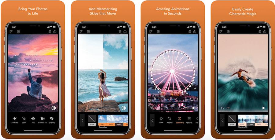 Как сделать живое фото для instagram на iPhone