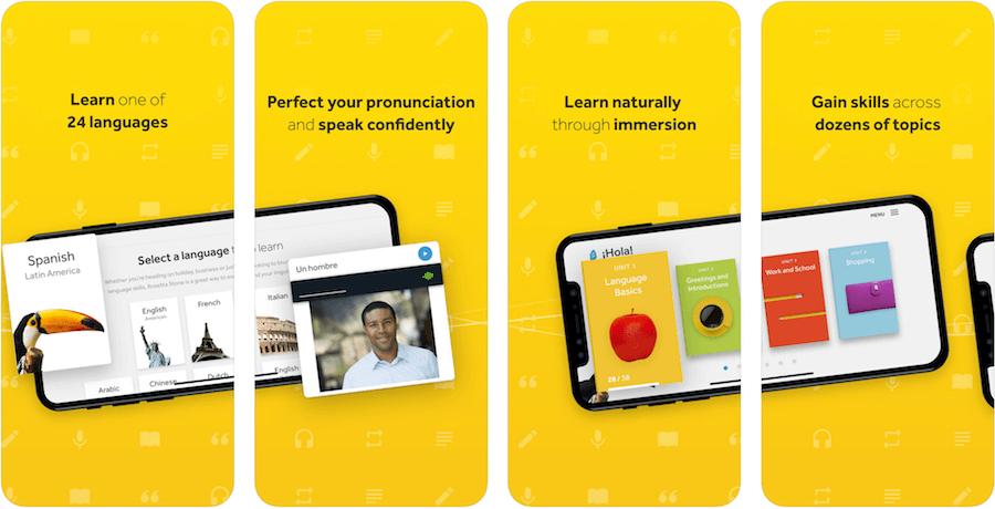Приложения для изучения итальянского языка на телефоне