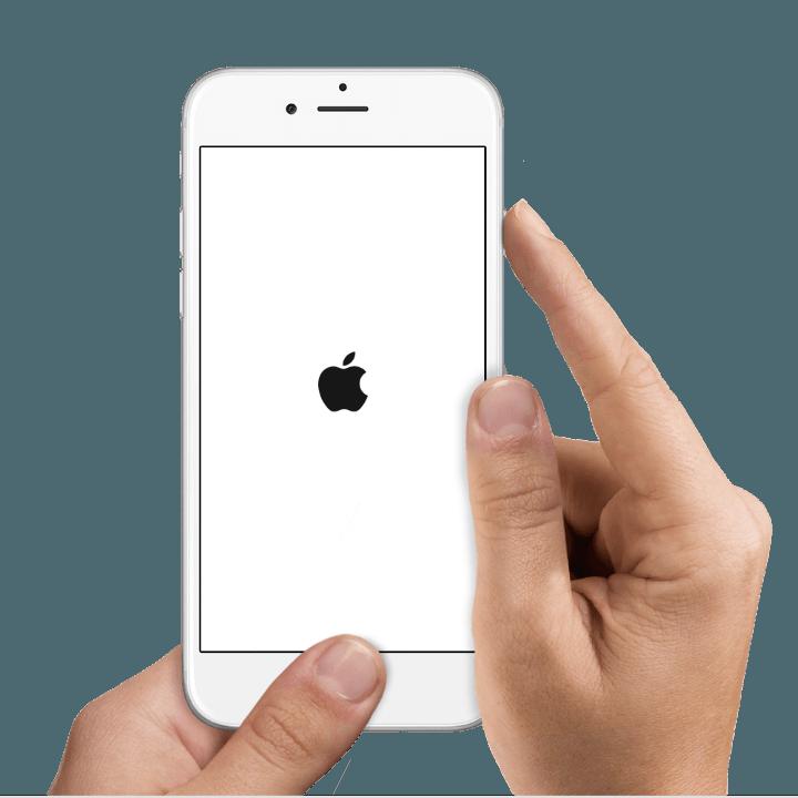 Перезагрузка устройства iPhone 6/6S/7/7 Plus/8/8Plus/X