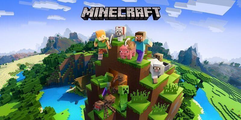 страшные мобильные игры, Minecraft