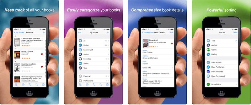 BookBuddy (скачать) – приложение, которое в описании содержит простое объяснение – «личный библиотекарь».