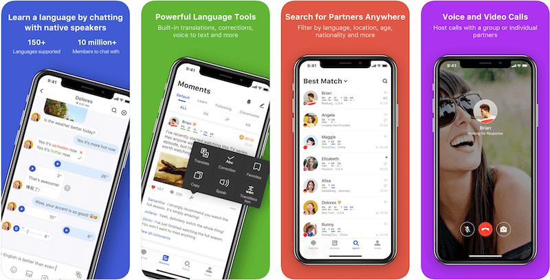 СкачатьHelloTalk бесплатно из AppStore - приложение для изучения английского