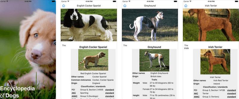 Приложения о собаках: дрессировка, питание, здоровье и досуг