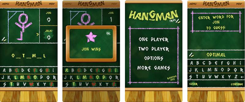игры для изучения английского, hangman