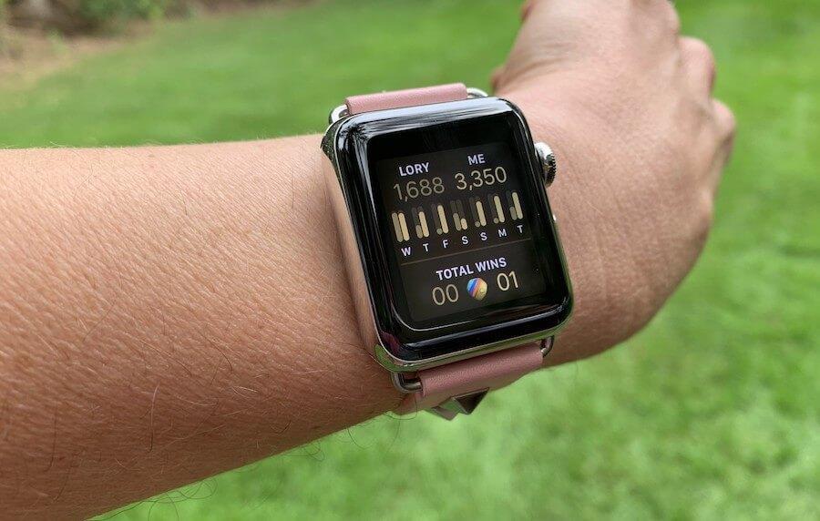 Apple Watch разжигает соревновательный дух