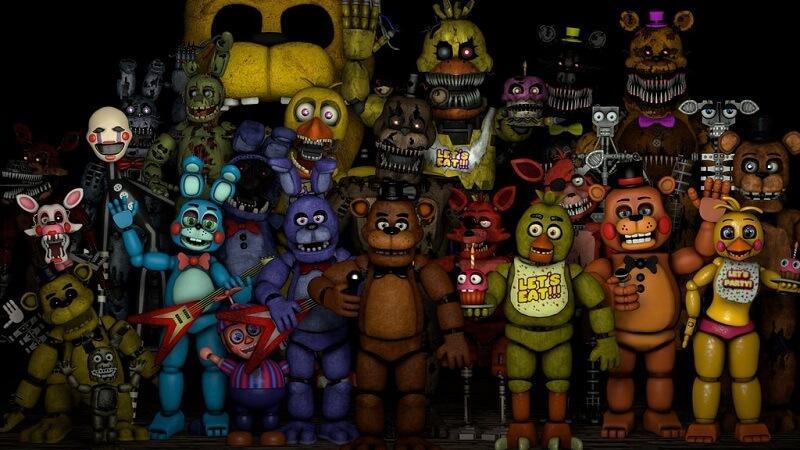 страшные мобильные игры, Five nights at Freddys'