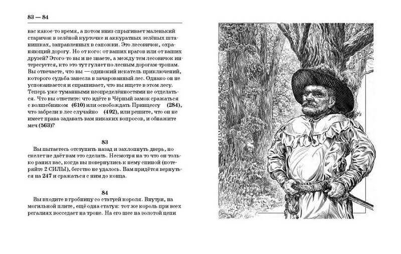Тайна Черного замка, текстовый квест, книга-игра, Дмитрий Браславский