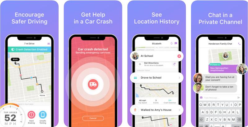 Life360, приложение-трекер