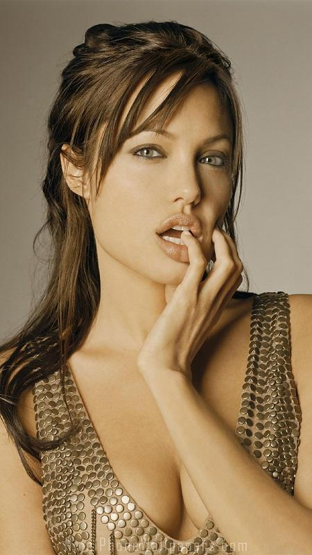 обои девушки, Анджелина Джоли