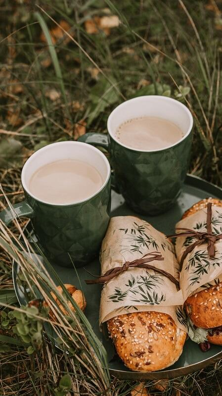 обои осень, обои кофе, обои пикник