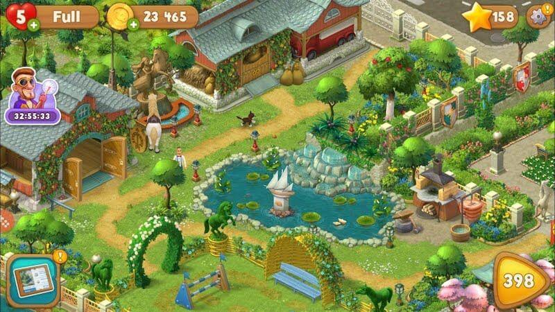 Как проходить игру Gardenscapes —советы и секреты