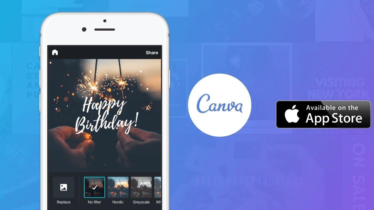 """приложение Canva номинировано на премию Google """"Выбор пользователей Google Play 2018"""""""