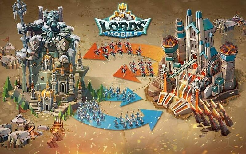 Lords mobile армия
