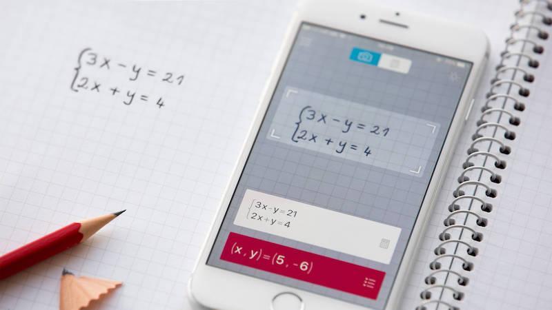 Приложение PhotoMath —калькулятор онлайн в твоем телефоне