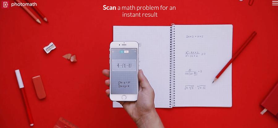 Что умеет делатьPhotoMath