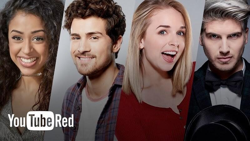 YouTube Originals Red